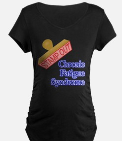 Chronic Fatigue Syndrome Maternity T-Shirt