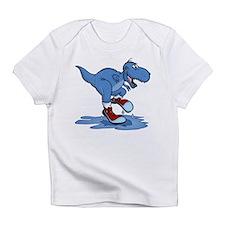Blue Dinosaur Splashing Infant T-Shirt
