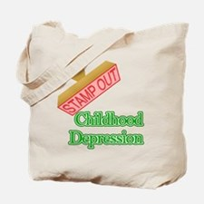 Childhood Depression Tote Bag