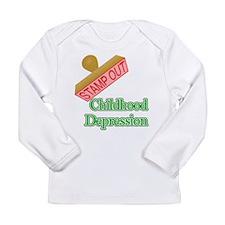 Childhood Depression Long Sleeve T-Shirt
