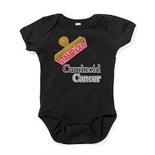 Carcinoid Cancer Baby Bodysuit