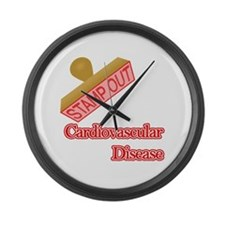 Cardiovascular Disease Large Wall Clock
