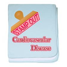 Cardiovascular Disease baby blanket