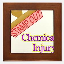 Chemical Injury Framed Tile