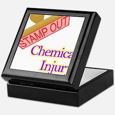 Chemical Injury Keepsake Box