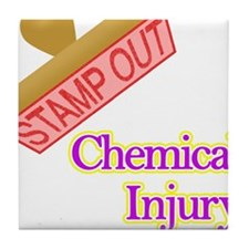 Chemical Injury Tile Coaster