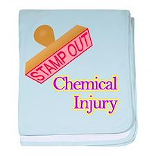 Chemical Injury baby blanket