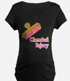 Chemical Injury Maternity T-Shirt