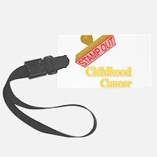Childhood Cancer Luggage Tag