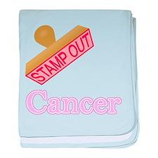 Cancer baby blanket