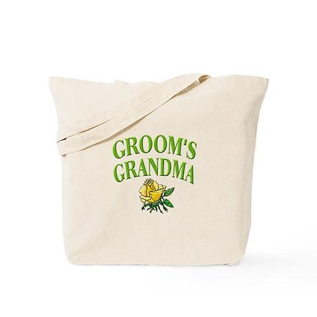Groom's Grandma (rose) Tote Bag