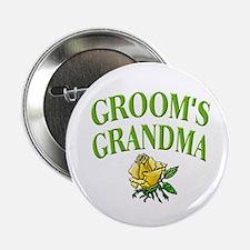 Groom's Grandma (rose) Button
