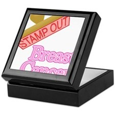 Breast cancer Keepsake Box