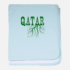 Qatar Roots baby blanket