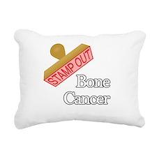 Bone Cancer Rectangular Canvas Pillow
