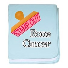 Bone Cancer baby blanket