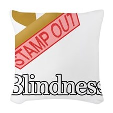 Blindness.png Woven Throw Pillow
