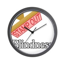 Blindness.png Wall Clock