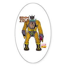 Marvel Comics Zola Retro Decal