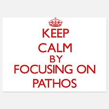 Keep Calm by focusing on Pathos Invitations