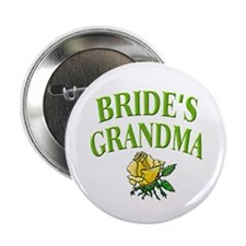 Bride's Grandma (rose) Button