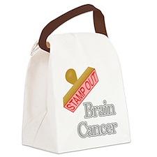 Brain Cancer Canvas Lunch Bag