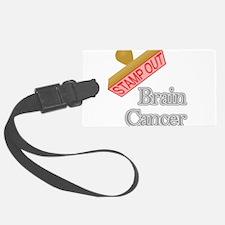 Brain Cancer Luggage Tag