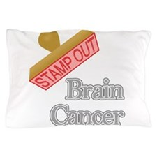 Brain Cancer Pillow Case