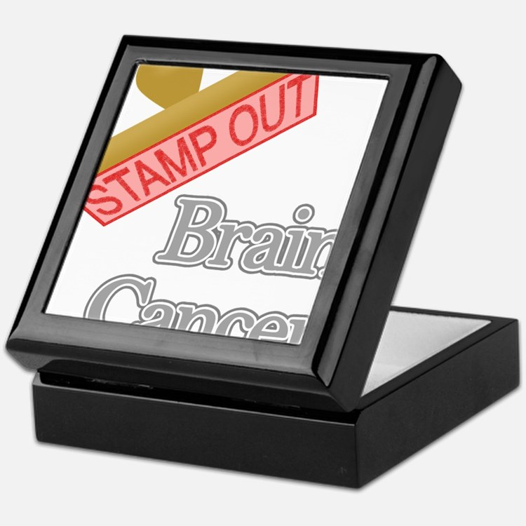 Brain Cancer Keepsake Box