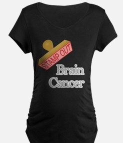 Brain Cancer Maternity T-Shirt