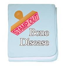 Bone Disease baby blanket