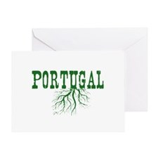 Portugal Roots Greeting Card