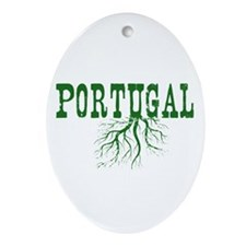 Portugal Roots Ornament (Oval)