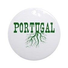 Portugal Roots Ornament (Round)