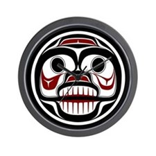 Northwest Pacific coast Haida Weeping skull Wall C