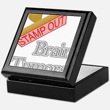 Brain Tumors Keepsake Box