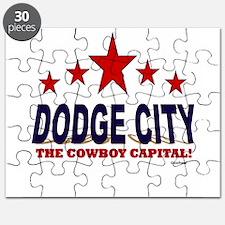 Dodge City The Cowboy Capital Puzzle