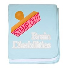 Brain Disabilities baby blanket