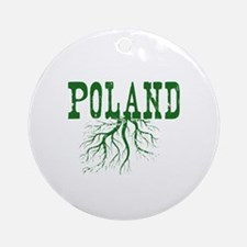 Poland Roots Ornament (Round)