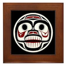 Northwest Pacific coast Haida Weeping skull Framed