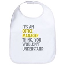 Office Manager Thing Bib