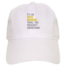 Office Manager Thing Baseball Baseball Cap
