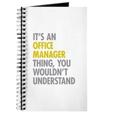 Office Manager Thing Journal
