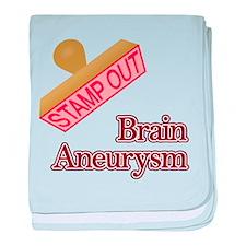 Brain Aneurysm baby blanket
