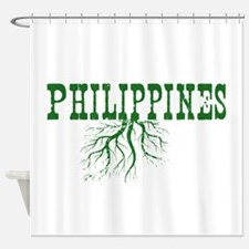 Philippines Roots Shower Curtain