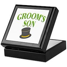 Groom's Son (hat) Keepsake Box