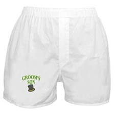 Groom's Son (hat) Boxer Shorts
