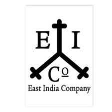 East India Co. Postcards (Package of 8)