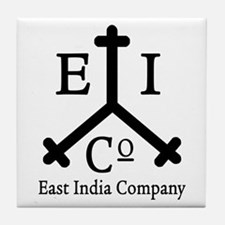 East India Co. Tile Coaster