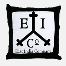 East India Co. Throw Pillow